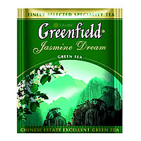 Зелений чай Greenfield Jasmine Dream (100 шт) Жасмин