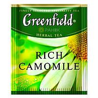 Трав'яний чай Greenfield Rich Camomile (100 шт) Ромашка