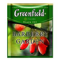 Чорний чай Greenfield Barberry Garden (100 шт) Барбарис
