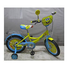 Велосипед детский мульт 16д. SB164 Спанч Боб