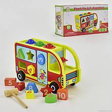 Деревянная игра 555-230 Автобус