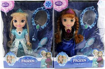 Кукла музыкальная Фроузен (Эльза и Анна ) ZT8690 ***