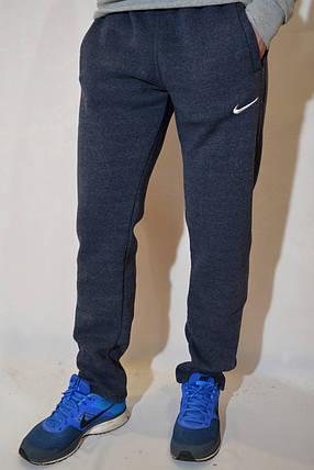 Размеры:48,50 - Утепленные спортивные штаны Nike (найк) / трикотаж, трехнитка, фото 2