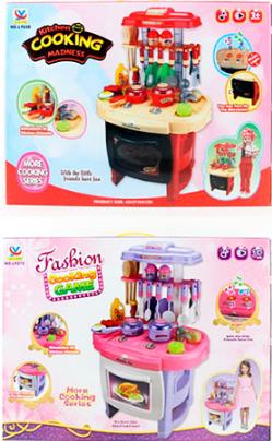 Кухня детская  музыкальная LY272-838 ***