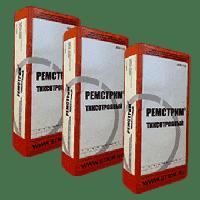 Ремонтные быстротвердеющие безусадочные смеси для безопалубочного ремонта РЕМСТРИМ-ТМ фасофка 25 кг