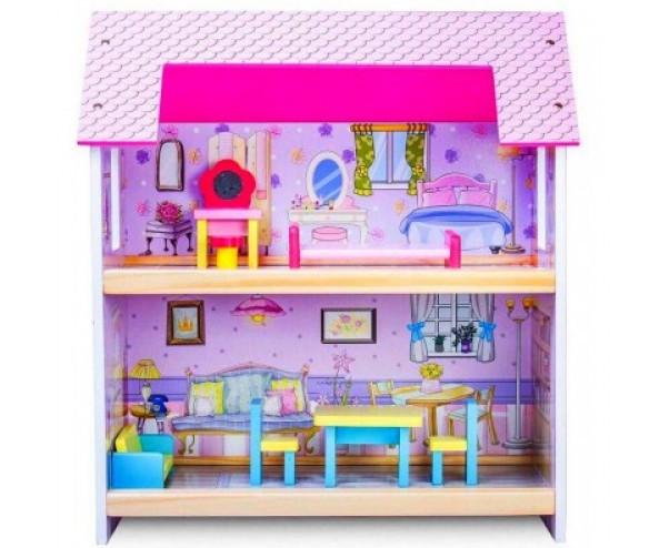 Кукольный домик.Дом для кукол с мебелью MD 1154***