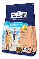 Повнораціонний гіпоалергенний сухий корм для дорослих собак з м'ясом ягняти і рисом «CLUB 4 PAWS»