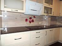 фартук из стекла на кухню