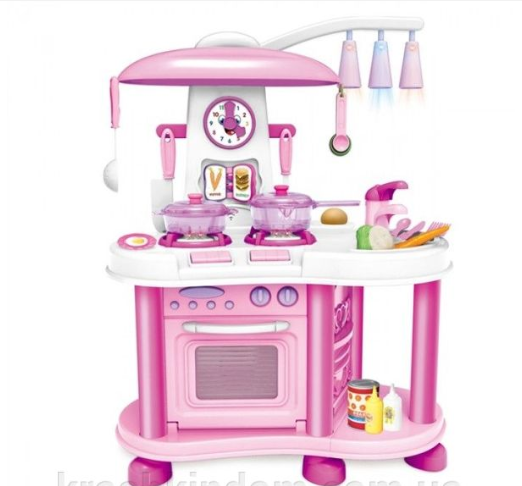 Игровой набор Кухня Cheef ZB-6016, свет, звук, вода ***