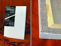 Холст на подрамнике,  Разные размеры, мелкое зерно, масляно-эмульсионный грунт, лен, ТМ Masterpiece
