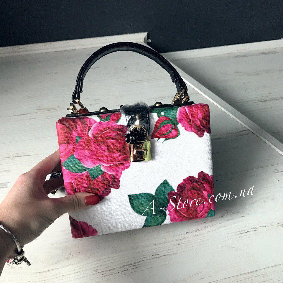 15e702daf842 Шикарная сумка в стиле D&G в цветочный принт , цена 790 грн., купить в  Днепре — Prom.ua (ID#637218108)