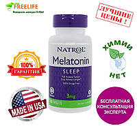 Natrol, Мелатонин TR, Time Release, 3 мг, 100 таблеток, купить, цена, отзывы