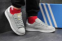 Серые мужские кроссовки Adidas Stan Smith