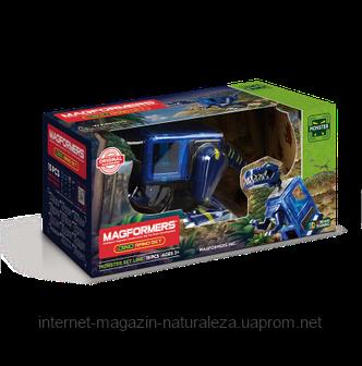 Конструктор магнитный  Magformers Тираннозавр, фото 2
