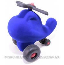 Игрушка  из каучука Rubbabu Вертолет синий