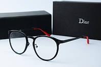 Оправа круглая Dior черная, фото 1