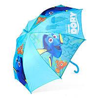 Детский зонтик полуавтомат Finding Dory (В поисках Дори) полиэстер, длинна - 48 см, 8 спиц ТМ ARDITEX WD9826 св. голубой