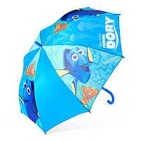 Детский зонтик полуавтомат Finding Dory (В поисках Дори) полиэстер, длинна - 48 см, 8 спиц ТМ ARDITEX WD9826 т. голубой