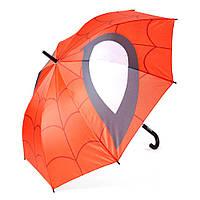 Детский зонтик полуавтомат Spider-Man (Человек-паук) полиэстер, длинна - 54 см, 8 спиц ТМ ARDITEX SM9843
