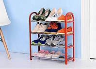 Полка, Стойка, Подставка для обуви, 4- ярусная