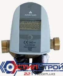 Счетчик тепла квартирный ELF Dn15,  Qном = 1м³/час