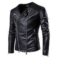 Зимние водонепроницаемые мужские кожаные куртки