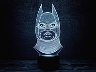 "3D ночник ""Бэтмен 1"" 3DTOYSLAMP, фото 1"