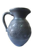 Кувшин для молока 1л Гаварецкая керамика (Гаварецкая глиняная посуда)
