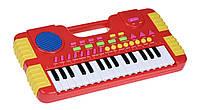 Музыкальный инструмент same toy Электронное пианино hy952ut красное
