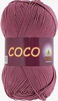 Летняя пряжа Сосо Vita Cotton, № 4326, дымчато-розовый