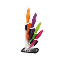 Набор ножей Sambuca 5 пр. на акриловой подставке Fissman (Нерж. сталь), фото 1