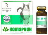 Препарат для лечения и профилактики мочекаменной болезни и урологического синдрома для котов Кот Эрвин 3флакона