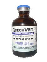 Противовоспалительный, противоаллергический, противошоковый препарат для собак и кошек Дексавет 50мл