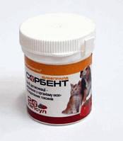 Сорбент при отравлении и интоксикации для собак и кошек 20кап