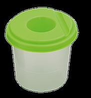 Стакан-непроливайка, салатовая zb.6900-15