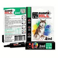 Капли для собак против блох, клещей, комаров для собак 10-20кг Акарокилл спот-он 1пипетка