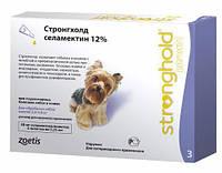 Капли от эктопаразитов для собак 2,5-5кг Стронгхолд 30мг