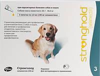 Капли от эктопаразитов для собак 20-40кг Стронгхолд 240мг