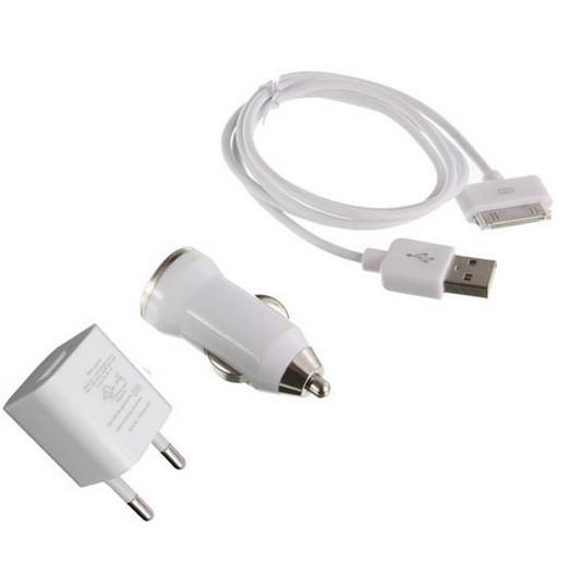 Зарядное для iPhone 3в1