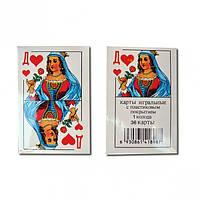 Карты игральные  Дама червей 36 шт