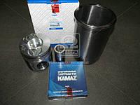 Гильзо-комплект КАМАЗ 740 с низким поршнем (ГП+Кольца+Палец) П/К (покупной КамАЗ) (арт. 740.1000128-09), AGHZX