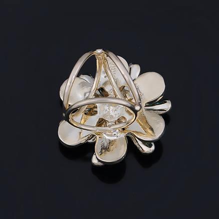 Брошь кольцо для шарфика и платка, фото 2