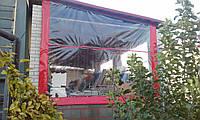 Сьёмные окна и стены из ткани ПВХ