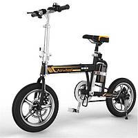 Электровелосипед складной R5T 214.6WH (черный)