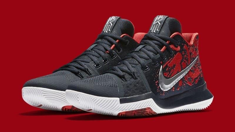 Nike Kyrie 3 Samurai Red/Black/Multi
