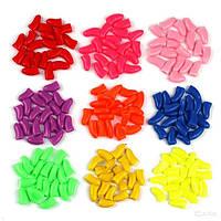 Колпачки цветные на когти для кошек XS 0-2,5кг
