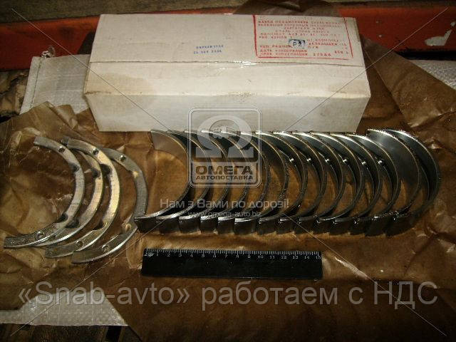 Вкладыши коренные Р1 Д 260 АО10-С2 (производство ЗПС, г.Тамбов) (арт. А23.01-91-260сбС), ADHZX
