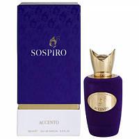 парфюмированная вода VIVACE SOSPIRO унисекс SOSPIRO ACCENTO EDP (тубус)    100 мл PREMIUM
