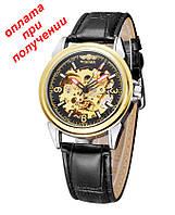 Мужские механические часы скелетон скелет Winner Skeleton New купить