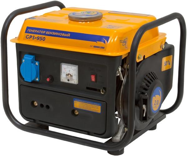 Генератор бензиновый SADKO GPS 950 - электростанция Садко 950 Ватт